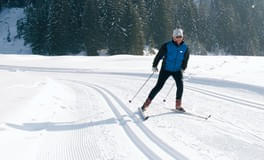 Cross-country-ski-run